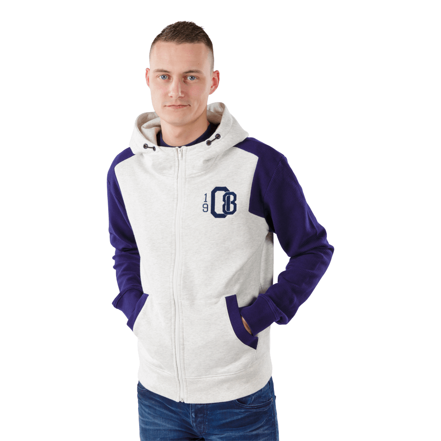Feyenoord Hooded Sweater Full Zip 1908, Z16