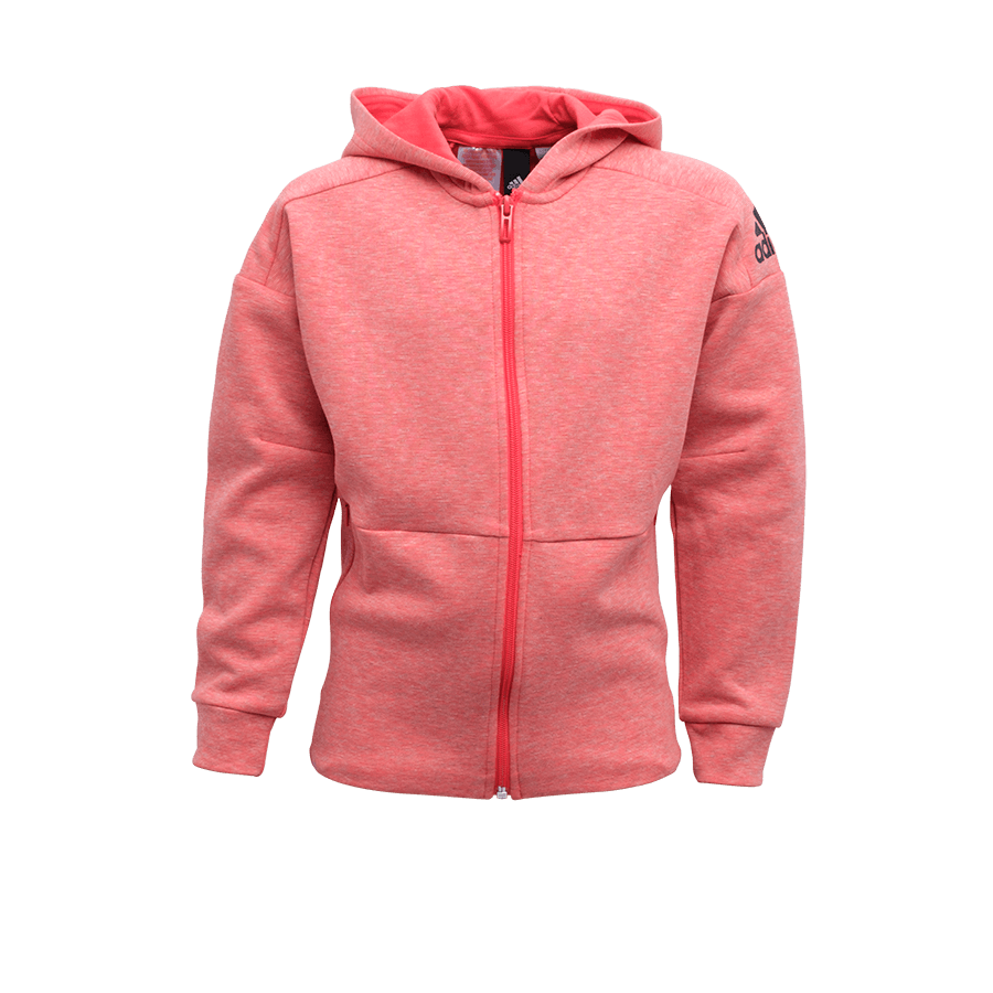 Feyenoord Adidas Hooded Sweatjacket, roze, Girls