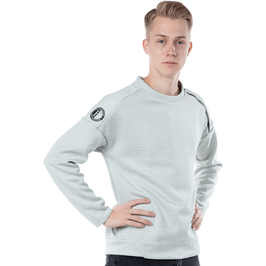 Feyenoord Adidas ZNE Sweater, wit, Heren, 2018/19